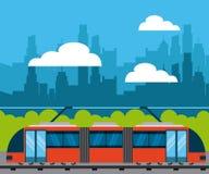 progettazione di trasporto di massa illustrazione vettoriale