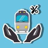 progettazione di trasporto di massa illustrazione di stock