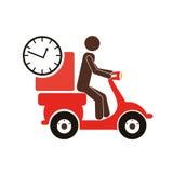 progettazione di trasporto e di consegna illustrazione vettoriale