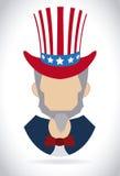 Progettazione di U.S.A. Fotografie Stock Libere da Diritti