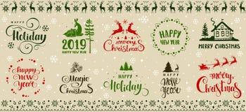 Progettazione di vacanze invernali immagine stock