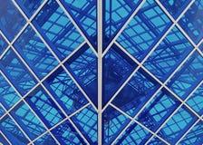 Progettazione di vetro Fotografia Stock