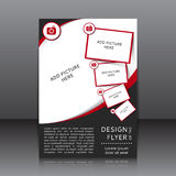 Progettazione di vettore dell'aletta di filatoio Fotografie Stock Libere da Diritti