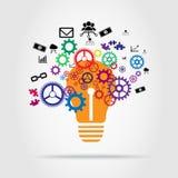 Progettazione di vettore di concetto dell'innovazione Immagine Stock Libera da Diritti