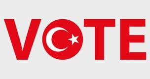 Progettazione di voto di vettore di simboli Fotografia Stock
