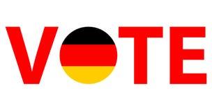 Progettazione di voto di vettore di simboli Fotografia Stock Libera da Diritti