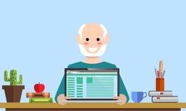 Progettazione digitale di analisi dei dati di pianificazione dello srartup di vendita della gestione illustrazione di stock