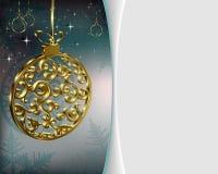 Progettazione festiva di Natale illustrazione vettoriale