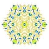 Progettazione floreale ornamentale tradizionale di Paisley Fondo dell'ornamento illustrazione vettoriale