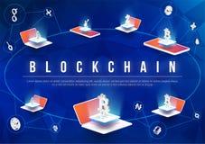 Progettazione futura degli elementi tecnologici illustrazione di stock