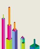 Progettazione geometrica astratta Immagini Stock