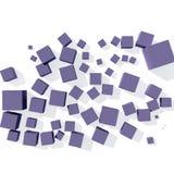 Progettazione geometrica astratta Immagine Stock Libera da Diritti