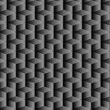 Progettazione geometrica nera di pendenza con il modello ripetuto Immagine Stock Libera da Diritti