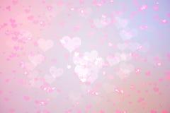 Progettazione girly del cuore generata Digital Fotografie Stock Libere da Diritti
