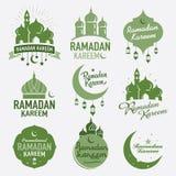 Progettazione grafica del Ramadan illustrazione di stock