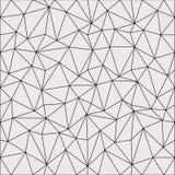 Progettazione leggera astratta del fondo del poligono Reticolo geometrico astratto Illustrazione lineare di vettore di griglia illustrazione di stock