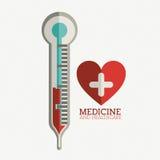 Progettazione medica Fotografia Stock
