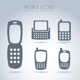 Progettazione mobile Immagine Stock