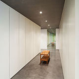 Progettazione moderna della Camera, interna Immagine Stock