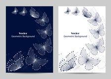 Progettazione moderna della copertura dell'opuscolo Fotografie Stock Libere da Diritti