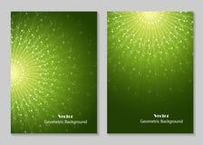 Progettazione moderna della copertura dell'opuscolo Immagine Stock