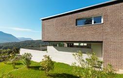 Progettazione moderna di architettura Fotografia Stock Libera da Diritti
