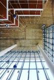 Progettazione moderna unica del tetto Fotografie Stock Libere da Diritti
