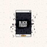 Progettazione nera di vendita di venerdì Immagini Stock
