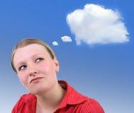 Progettazione - nube di idea Fotografie Stock Libere da Diritti