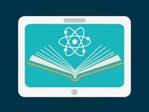 Progettazione online di istruzione Immagine Stock
