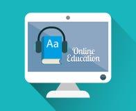 Progettazione online di istruzione Fotografia Stock