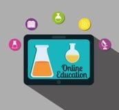 Progettazione online di istruzione Immagine Stock Libera da Diritti