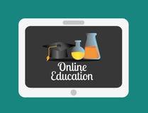 Progettazione online di istruzione Fotografie Stock Libere da Diritti