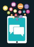 Progettazione online di istruzione Immagini Stock