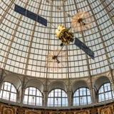 Progettazione Openwork di una cupola fatta di vetro e di metallo Immagine Stock Libera da Diritti