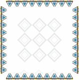 Progettazione orientale fatta a mano ornamentale variopinta per i vestiti Immagine Stock Libera da Diritti