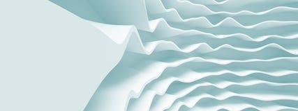 Progettazione panoramica di Wave Fotografia Stock Libera da Diritti