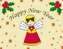 Progettazione per Angel Card Fotografia Stock