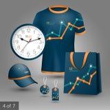 Progettazione promozionale degli elementi Immagini Stock