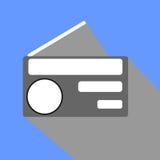 Progettazione radiofonica del flath immagine stock libera da diritti