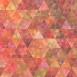 Progettazione regolare del fondo del triangolo di pendenza astratta retro Immagini Stock Libere da Diritti