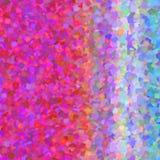 Progettazione regolare irregolare geometrica astratta di struttura con la viola rosa Fotografia Stock Libera da Diritti