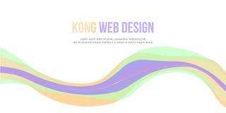 Progettazione semplice del fondo dell'intestazione astratta del sito Web Immagini Stock Libere da Diritti
