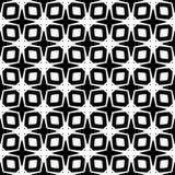 Progettazione senza cuciture in bianco e nero del modello di vettore Fotografia Stock Libera da Diritti