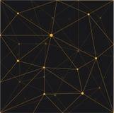 Progettazione senza cuciture del fondo dell'estratto del triangolo Immagini Stock