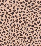 Progettazione senza cuciture del modello del leopardo Priorità bassa dell'illustrazione di vettore illustrazione vettoriale