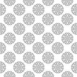 Progettazione senza cuciture grigia su fondo bianco Immagini Stock Libere da Diritti