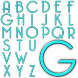 Progettazione speciale di alfabeto di ABC Illustrazione Vettoriale