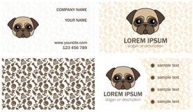 Progettazione stabilita per la decorazione di piccola clinica veterinaria, kenn Immagine Stock