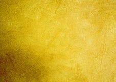 Progettazione strutturata della carta da parati del fondo di pendenza gialla fotografia stock